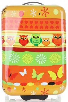 Módne kufre pre deti v spoločnosti Snowball Owl Multicolor-orange