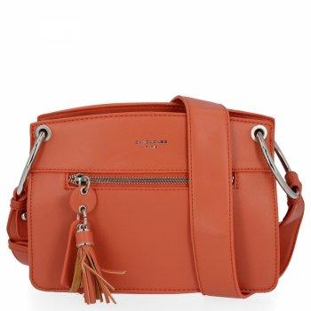 Elegantná dámska taška na posol David Jones Coral