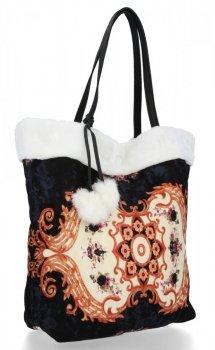 BEE BAG dámska taška Shopper XL Boho štýl Biela