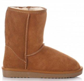 Talianske kožené členkové topánky dámske zimné topánky červené
