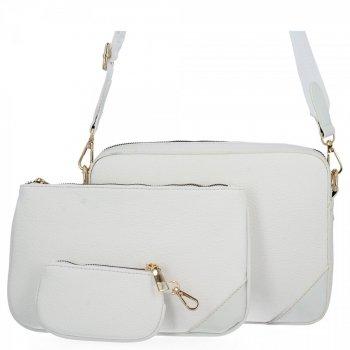 Univerzálne Dámske crossbody tašky od Herisson biela
