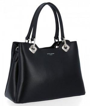 David Jones Business Bag dámska elegantná taška cez rameno Čierna