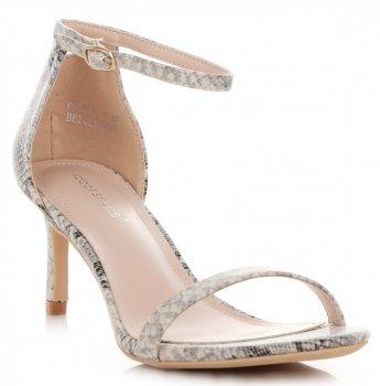 Elegantné dámske ihlové sandále z ideálnej topánky hada tému
