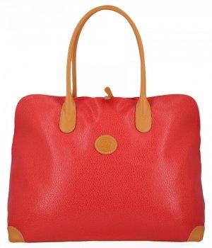 Všestranné štýlové cestovné tašky od David Jones červený