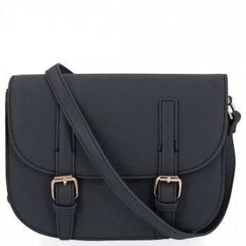 Univerzálna dámska taška na posol Herisson Vintage Čierna