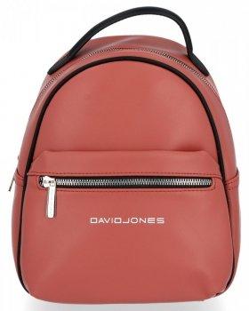 Firemný príležitostný ženský batoh David Jones špinavý ružový