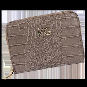 Vittoria Gotti nositeľné elegantné kožené peŘaženky ženy v aligátor zemitý motív