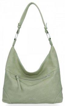 BEE BAG univerzálne dámske ležérne tašky Laida Svetlo zelená