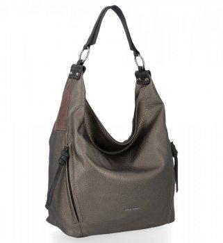 Univerzálne dámske ležérne tašky David Jones Dark Silver