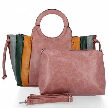 Módne dámske kabelky tašky od David Jones Dirty ružový