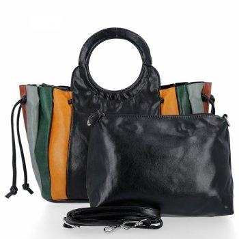 Módne dámske tašky Messenger tašky David Jones čierny