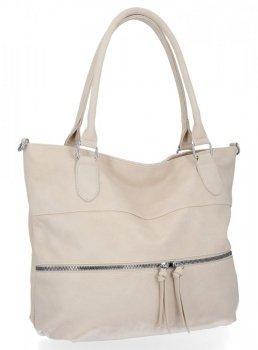 Univerzálne dámske tašky veľkosti XL od Herisson Beige