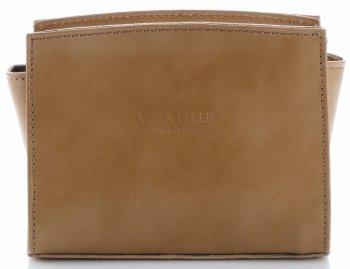 Módna kožená taška-poštár Vera Pelle zemnaya