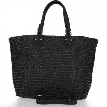 BEE Bag módna dámska taška XL Milano Čierna