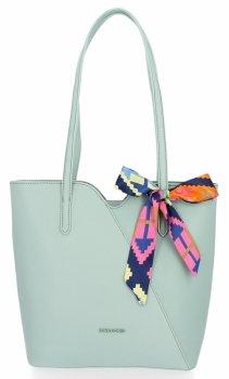 Klasické dámske tašky s šatkou na krk od David Jones Mint