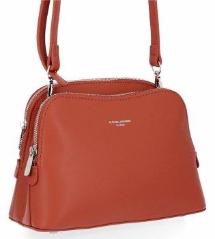Elegantné dámske tašky dvojkomorový poštár David Jones Coral