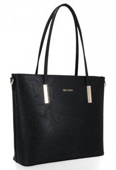 Bee BAG Klasické dámske tašky Florence veľkosť L Čierna