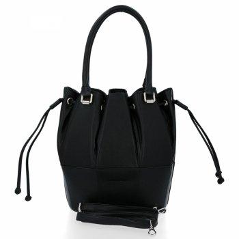 Módna a všestranná príležitostná dámska taška David Jones čierny