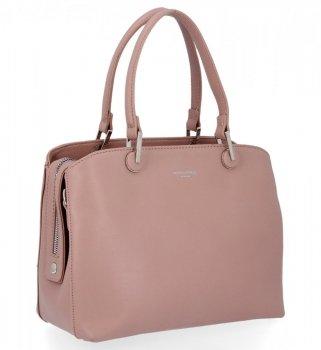 Elegantná dámska taška David Jones Ružová