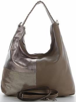 Talianska univerzálna Kožená taška veľkosti XL s módnym dizajnom