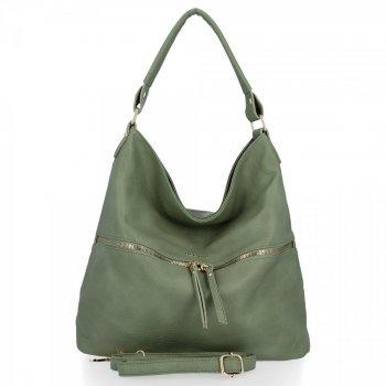 BEE BAG univerzálna dámska taška Denise Veľkosť XL svetlozelená