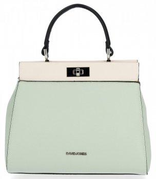 Dvojkomorová taška dámska elegantná taška od David Jones Mint