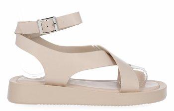 Béžové Dámske sandále od spoločnosti Givana
