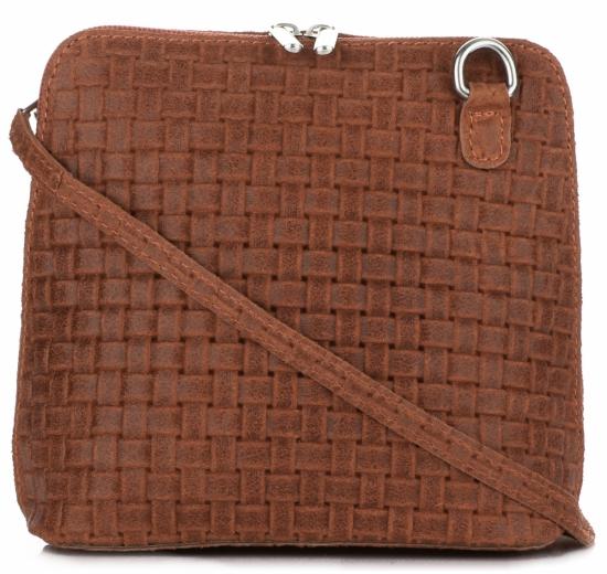Malé kožené kabelky listonošky Genuine Leather zrzavá - Panikabelkova.cz eab2d1f46a