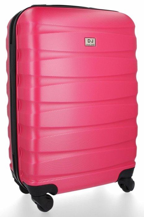 Palubní kufřík 4 kolečka značky Madisson Růžový