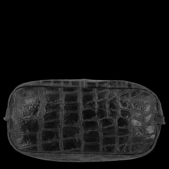 Vittoria Gotti Univerzální Kožené Dámské Kabelky motiv želvy Černá