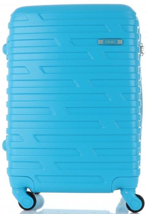 Módní Palubní kufřík Or&Mi 4 kolečka tyrkys