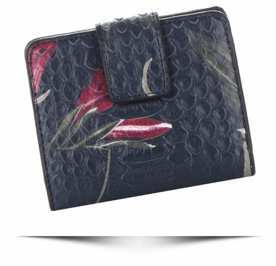 Pouzdro na karty Diana&Co Firenze Tmavě modrý