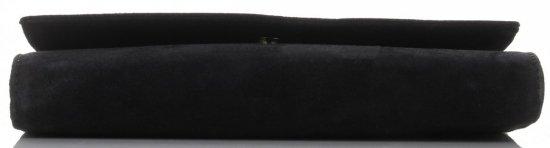 Kožená Kabelka Psaníčka Vittoria Gotti Elegantní Listonoška Made in Italy černá