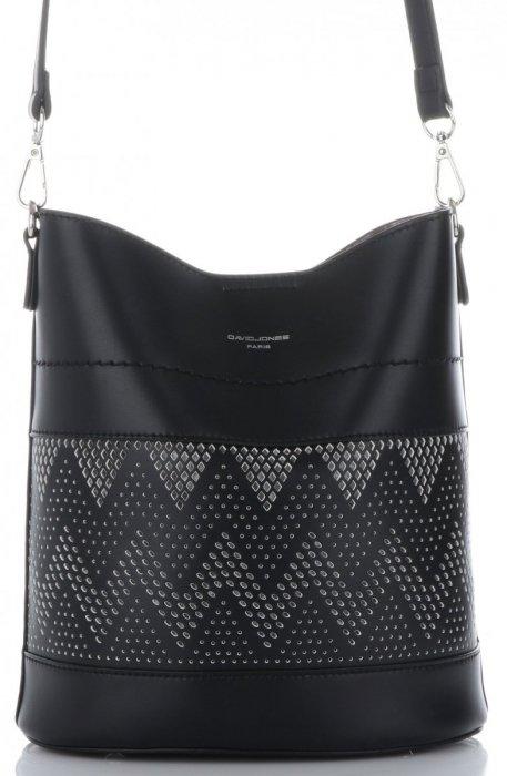 4d1f1b6bef Dámské kabelky listonošky s kosmetikou David Jones ažurová Černá