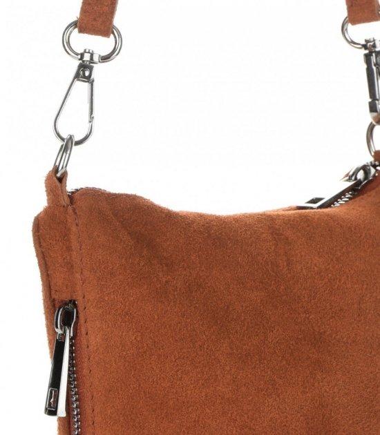 2ad1e3a443616 Uniwersalne Torebki Listonoszki Skórzane firmy Genuine Leather Ruda ...
