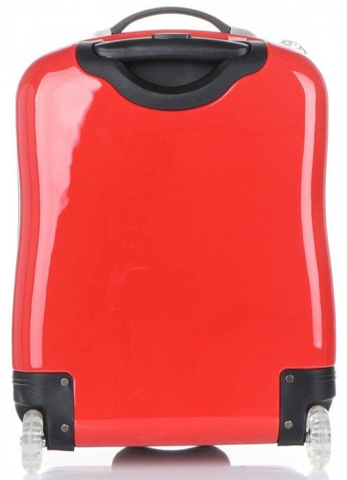 Walizki Kabinówki dla Dzieci Firmy Madisson Biedronka Multikolor - Czerwona