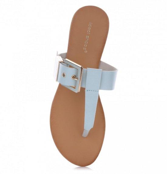 Sandały Damskie Niebieskie