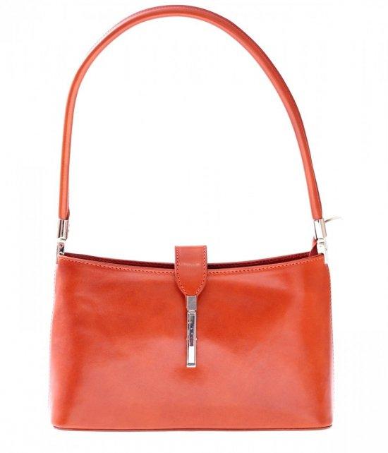 Klasické a elegantné kožené tašky červené