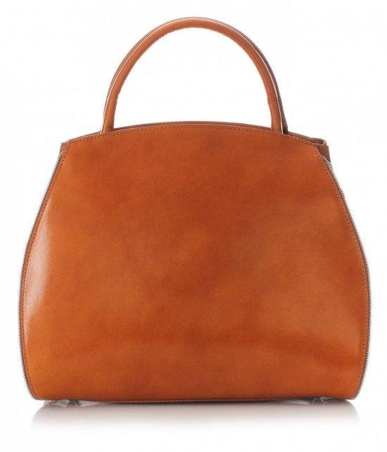 Taška je kožená taška s možnosťou rozšírenia rudy