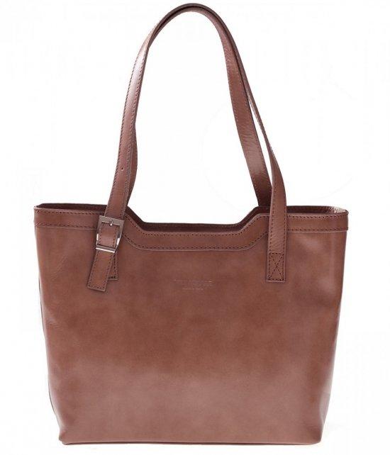 Klasické tašky z pravej kože béžovej
