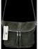 Uniwersalna Listonoszka Skórzana na co dzień w rozmiarze M firmy Vittoria Gotti  Ciemno Zielona