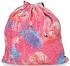 Modny Plecaczek Damski Worek z cekinami we wzór flaminga Różowy