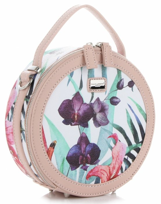 torebka David Jones Małe Poręczne Torebki Damskie Listonoszki ze skóry ekologicznej Brudny Róż