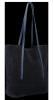 Włoskie Torebki Skórzane Uniwersalny Shopper renomowanej firmy Vittoria Gotti Granat