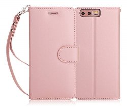 FYY HUAWEI P10 - Etui book case (pink)