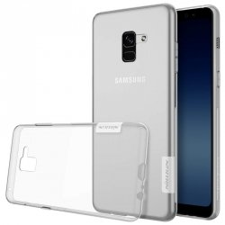 NILLKIN NATURE ETUI SLIM CASE - SAMSUNG GALAXY A8 2018 (CLEAR)
