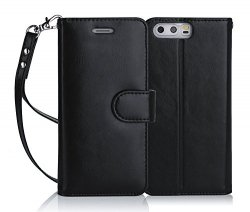 FYY HUAWEI P10 - Etui book case (black)