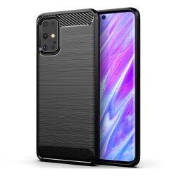 Carbon TPU Case etui pokrowiec Samsung Galaxy S20 ULTRA czarny