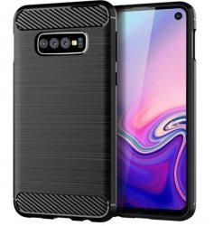 Etui Tech-Protect TPU Carbon Samsung Galaxy S10