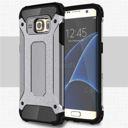 Dual Rugged Case Armor - Pancerne etui - Samsung Galaxy S7 EDGE (grey)